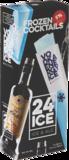 24 Ice, cocktail ijs Vodka Energy_