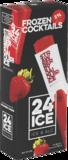 24 Ice, cocktail ijs Strawberry Daiquiri_