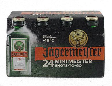 Jägermeister 24x mini meister 2cl