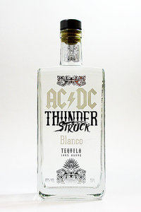 AC/DC Thunder Struck Blanco Tequila