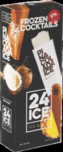 24 Ice, cocktail ijs Piña Colada