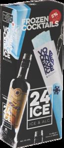 24 Ice, cocktail ijs Vodka Energy