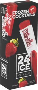 24 Ice, cocktail ijs Strawberry Daiquiri