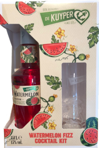 De Kuyper Watermelon fizz cocktail set