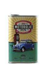 Blik-Motorolie-2CV-blauwe-eend-Drop-honinglikeur-Likeur